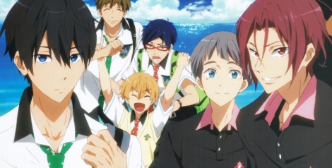 Pictured: Free! - Eternal Summer