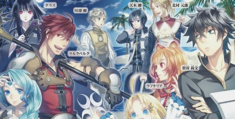 The Rising Of The Shield Hero English Light Novels