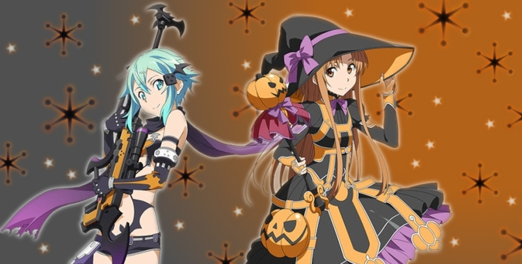 (pictured: Sword Art Online -- Halloween artwork)