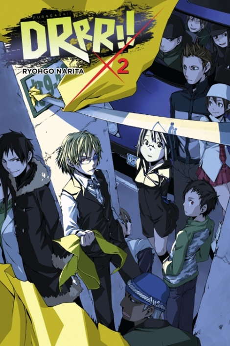 Durarara!! (volume 2) will release on November 17th.