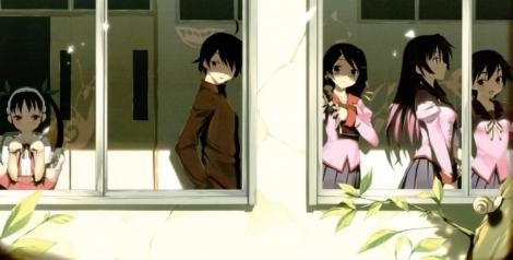 (pictured: Bakemonogatari)