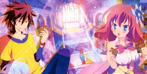(pictured: No Game No Life)