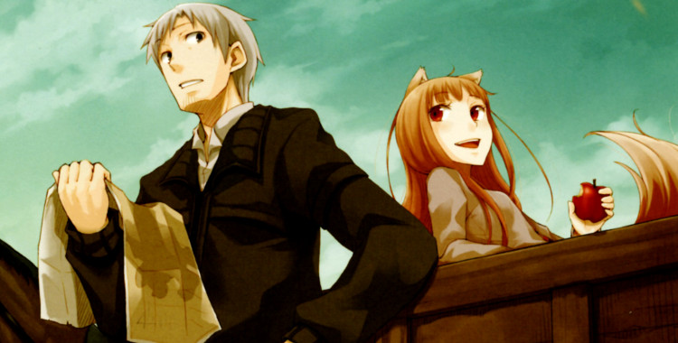 (pictured: Spice and Wolf)