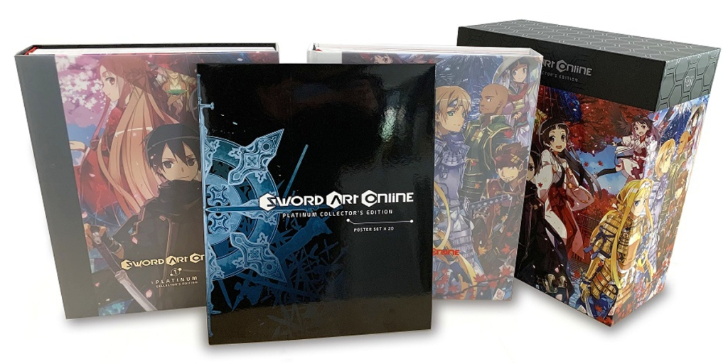 Yen Press Announces the Sword Art Online Platinum Collector's Edition Banner Image