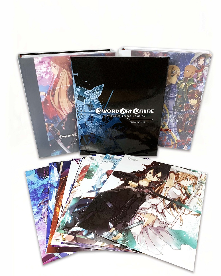 Yen Press Announces the Sword Art Online Platinum Collector's Edition contents image