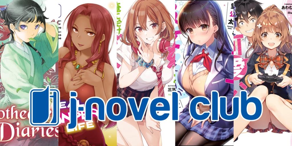 J-Novel Club Licenses 5 New Light Novels and Two New Manga Banner Image